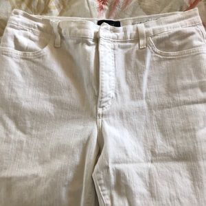 Not Your Daughters White Jeans Size 14